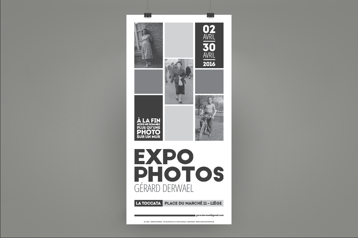 Affiche - Expo photo