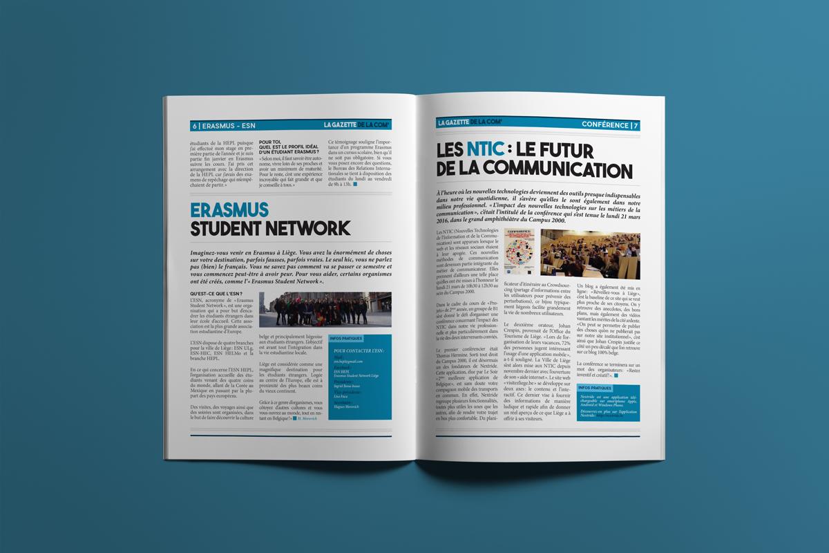 Pages 6 & 7 - La gazette de la com'