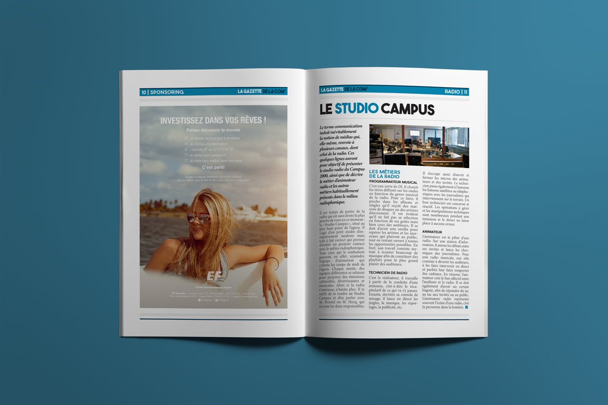 Pages 10 & 11 - La gazette de la com'