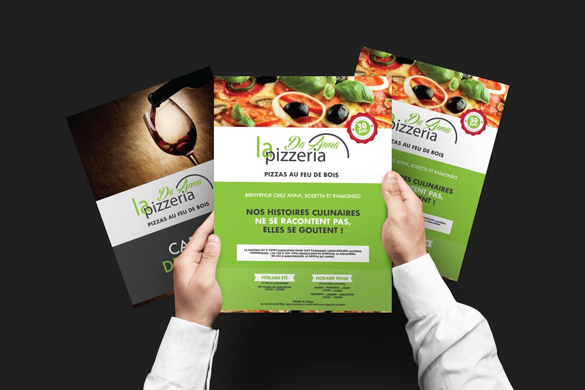 Menu - Pizzeria Da Anna