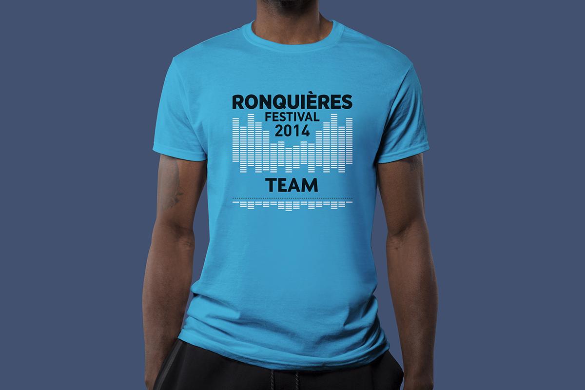 T-shirt - Ronquières Festival