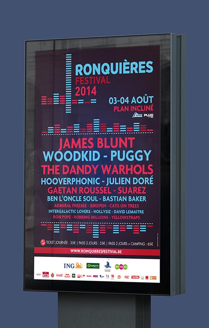 Affiche - Ronquières Festival