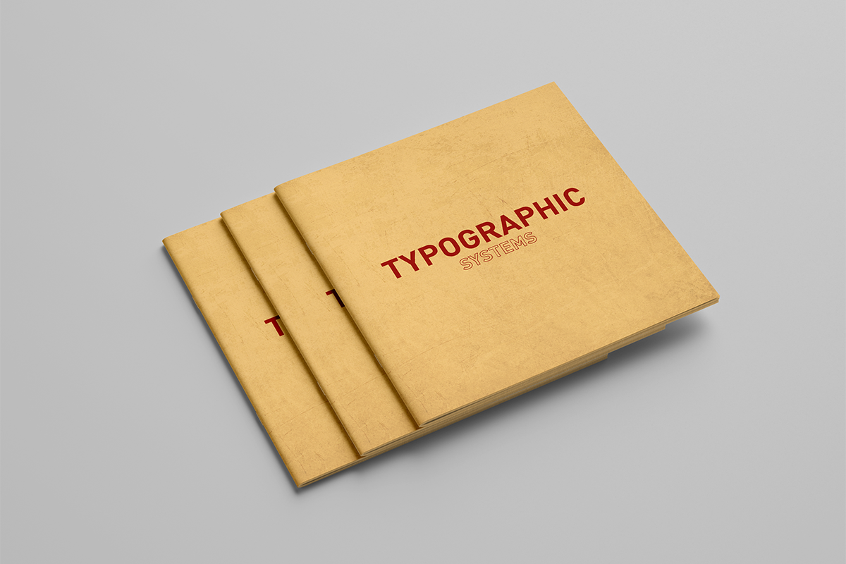 Couverture - Typographic Systems
